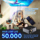 15000 Lumens Portable Mini Projector HD 1080P Home Theater Cinema VGA