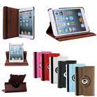 360 Rotating Leather Stand Case Cover With Retina Display For Apple iPad Mini 2