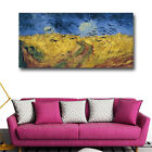 Van Gogh Wheatfield With Crows World Famous Painting Reproductions On The Wall