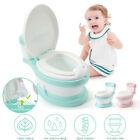 Portable Baby Kids Toilet Training Child Toddler Potty Trainer Seat Chair Travel image