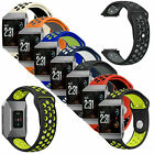For Fitbit Ionic Watch Replacement Silicone Rubber Sport Band Strap Wristband