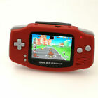 Nintendo Game Boy Advance GBA Red System 101 Brighter Backlit IPS LCD MOD