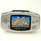 Nintendo Game Boy Advance GBA Silver System 101 Brighter Backlit IPS LCD MOD