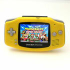Nintendo Game Boy Advance GBA Yellow System 101 Brighter Backlit IPS LCD MOD