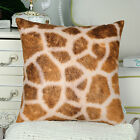 """CaliTime Fleece Pillows Cases Covers Couch Bed Sofa Striped Printed 18"""" 16"""" 20"""""""