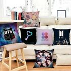BTS Personality Fashion Pillowcase Printing Home Sofa Pillow Cover Waist Cushion image