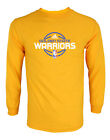 Adidas NBA Basketball Mens Golden State Warriors Basic Graphic Long Sleeve Tee on eBay