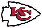 Kansas City Chiefs NFL Football Color Logo Sports Decal Sticker - Free Shipping $1.98 CAD on eBay