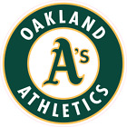 Oakland Athletics Baseball Color Logo Sports Decal Sticker - Free Shipping