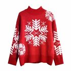 2019 Winter Half-neck Sweater Women's Loose Thick Water Velvet Christmas