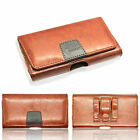 NEW Belt Clip Loop Holster Leather Pouch Case Cover Holder for Mobile Phones X.L