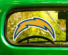 2 SAN DIEGO CHARGERS DECAL Stickers Bogo For Car Window Bumper Free Shipping $5.95 USD on eBay