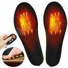 Heated Insoles Foot Warmers with Controller Rechargeable Battery Outdoor Work US