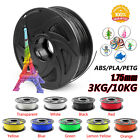 Kyпить 3/10 Pack 3D Printer Filament 1.75mm ABS/PLA/PETG Thermoplastic Multicolor USA на еВаy.соm
