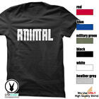 ANIMAL Gym Rabbit T-Shirt Workout Gym Fitness Weightlifting Motivation E196 image