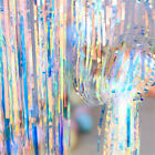 Christmas 2M/3M Tinsel Curtains Foil Streamers Door Xmas Brithday Party Decor