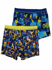 Disney Mens 2-Pack A Goofy Movie Powerline Eye To Eye Underwear Boxer Briefs