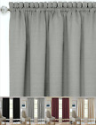 Shabby Linen Farmhouse Sheer Flax Window Curtains - Assorted Colors & Styles