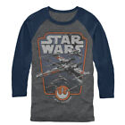 Star Wars Red Squadron Mens Graphic Baseball Tee $31.99 USD on eBay