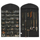 Durable Jewelry Hanging Necklace Bracelet Earring Pouch Organizer Display Bag