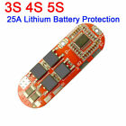 25A 3S 4S 5S Li ion Lithium Battery BMS PCB Protection Board Balance