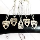 Retro Vintage Antique Gothic Ouija Board Necklace Pendant Chain Jewellery Gift