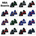 Winter Warm Knitted Embroidered Basketball All Teams Pom Beanie Hat Unisex Adult on eBay