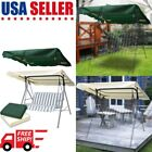 Swing Top Cover Canopy Replacement Patio Porch Outdoor Seat Furniture 194x112cm