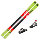 2019 Volkl Junior Racetiger GS R Skis w Marker Race 10 TCX Bindings   118842