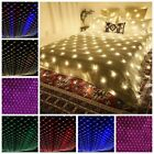 Led Mesh Net String Fairy Lights Christmas Xmas Party Garden Home Outdoor Decor