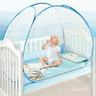Portable Foldable Baby Kids Toddler Bed Crib Pop Up Canopy Mosquito Net Tent Hut