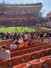 2 Cleveland Browns Vs Cincinnati Bengals Sunday December 8 1pm  Sec 136 Row 12! $125.0 USD on eBay