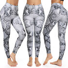 Women PUSH UP Yoga Leggings Fitness High Waist Sport Gym Pants Athletic Trousers