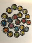 Hot Wheels Redline  Lot Of 21 Assorted Collectors Buttons