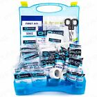 PREMIUM LARGE 210Pc BSI UK APPROVED FIRST AID CATERING KIT +Bracket Cafe Kitchen