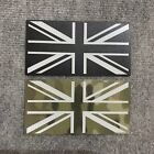 Union Jack Flag Reflective Mono, Multicam IR Style Vest Morale Patch for UBACS