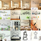 Diy Vinyl Home Room Decor Art Quote Wall Decal Stickers Bedroom Removable Mural