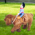 Pet Dog Puppy Halloween Cowboy Funny Cute Soft Costume Riders Cloth Pet Costumes