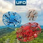 Mini Drone Quadcopter RC Induction UFO LED Light Flying Ball Toy For Kids D1U6