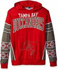Forever Collectibles NFL Men's Tampa Bay Buccaneers Big Logo Hooded Sweater, Red $29.99 USD on eBay