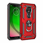 For Motorola MotoG7 Play G7 Plus G7 Power Case Shockproof Armor Ring Stand Cover