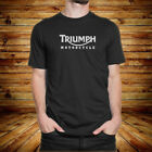 New Triumph Classic Motorcycle Men's Black Tees Shirt Clothing $20.99 USD on eBay