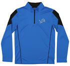 Outerstuff Youth NFL Detroit Lions Lightweight 1/4 Zip Pullover $14.99 USD on eBay