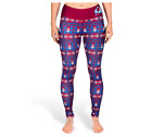 KLEW NHL Women's Colorado Avalanche Aztec Print Leggings $29.95 USD on eBay