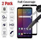 [2 Pack] For LG Stylo 6 /5 /4 Plus Full Coverage Tempered Glass Screen Protector