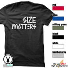 SIZE MATTERS Gym Rabbit T-Shirt Gym Fitness Workout Weightlifting E420 image