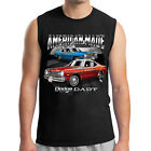 Dodge Dart Men's Sleeveless Chrysler American Made Car Muscle Tee - 1542C $18.89 USD on eBay