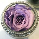 REAL Preserved Forever Rose Flower Ring Box Birthday Anniversary Sympathy Gift