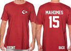 CHIEFS MAHOMES JERSEY 15 Kansas City Chiefs NFL SHIRT Super Bowl LIV Champion $17.99 USD on eBay