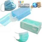 Disposable 3 Ply Face Mask Surgical Dental Nail Salon Dust Medical Face...